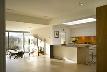 Roundhouse open plan living / Kitchen, living and dining all in one space