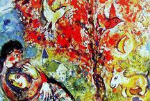 Marc Chagall Amazing Star