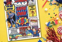 { Superhero Party Ideas }