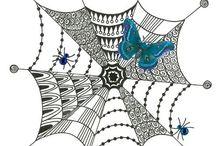 Zen tangle  inspirations