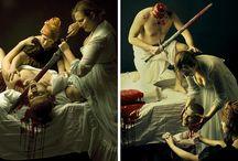 Kunst- Judith und Holofernes