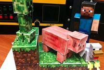 Minecraft / Minecraft crafts for the kids / by Matt Siltala
