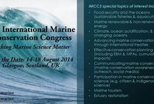 IMCC: Making Marine Science Matter / The 3rd International Marine Conservation Congress (IMCC) will be held August 2014 in Glasgow, Scotland, UK. To conserve the world's oceans we must go beyond science, and use it to inform policy and management, and ultimately to catalyze change. The Society for Conservation Biology's IMCC brings together conservation professionals and students to develop new and powerful tools to further marine conservation science and policy.