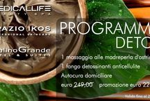 Programma Detox / Una nuova promozione DETOX valida fino a fine febbraio, pensata per voi dai vostri consulenti del benessere: Medicallife, Spazio IKOS @ Hotel Mulino Grande!