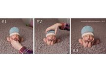 Baby pic ideas  / by Katie Batton
