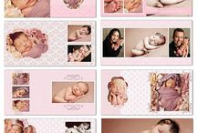 baby photography album template