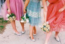 bridesmaids / by Greer Manolis