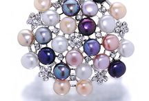 Pearl Brooches