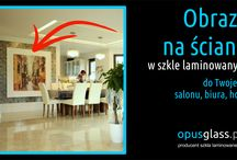 OPUSGLASS radzi - gdzie wykorzystasz szkło laminowane - glass ideas / Zastanawiasz się jak wykorzystać szkło laminowane? Może nie tylko w drogich salonach czy hotelach, ale również w naszym codziennym życiu jak w kuchni, korytarzu na ścianach.