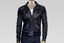 Leather Jackets / A selection of the best leather jackets around. More featured daily at facebook.com/dmarge / by D'Marge Men's Style