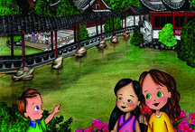 Molly Goes to Shanghai / Molly and the Magic Suitcase Series presents its ninth entry, Molly Goes to Shanghai. #Shanghai #China #family #travel #travel #childrens #books #educational #illustration