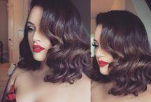 makijaż fryzury