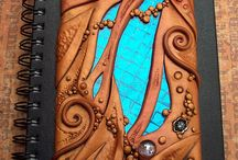 clay stuff journal covers