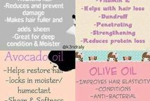 Healthy Hair / Tips & inspiration