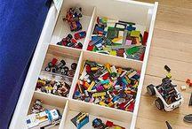Lego、子供部屋