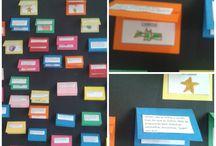Linguagens / Languages / Atividades de estimulo para o desenvolvimento da linguagem e abordagem à escrita