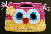 torebki plecaki szydełko crochet