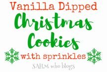 Christmas Bakes and Cookies / This is the place to find loads of fun ideas for Christmas cookies, cakes, brownies, treats and yummy food :)