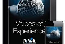 Voices of Experience® (VOE) Audio Magazine / Award-winning Voices of Experience® (VOE) audio magazine