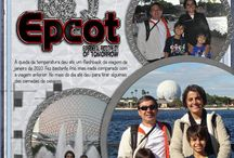 Scrapbook Pages: Disney: EPCOT