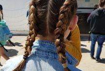 Lianne op CAS / Lianne was op Concert at Sea op zoek naar verschillende festival Looks.