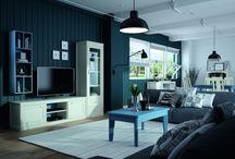 Salones con encanto / Salones rústicos, modernos, clásicos. Decora y adapta su salón con las propuestas que te ofrece decomueble.