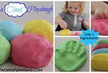 fun stuff for kids. / play dough