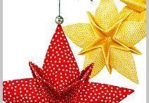 látkové origami
