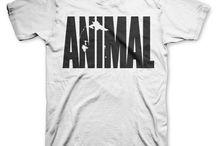 Gym / Remeras Estampadas Gym Color Animal