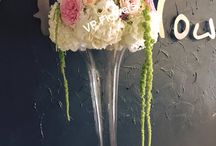 Table Floral Arrangements / For more details contact us at vpflowers@yahoo.com