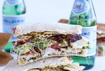 .sandwiches. / Sandwiches that will leave your lunch anything but dull.