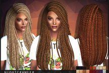 {Sims 4} Natural Hair