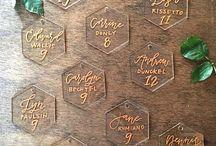 Perspex Wedding Stationery