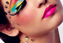 Airbrushing Make-up