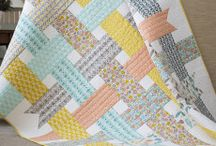 Quilts...simple quilts that showcase fabulous fabrics / quilts that feature the fabrics I love