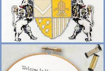 New!! The Royal Proclamations Collection - Modern Cross Stitch Patterns / Celebrate your life like royalty with these sassy modern cross stitch patterns