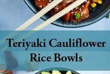 Cauliflower Rice bowls