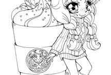 Choocolate shake girl