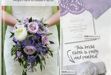 Features in wedding magazines
