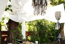Outside Oasis / Curb Appeal and Backyard Oasis / by Heidi Yarger // Spitfiregirl
