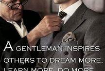 A gentleman...