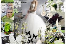Wedding Black, White & LIME / by White Satin Wedding Show