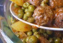 recette viande/légumes