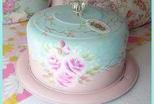 kek kapak çaydanlık süsleme