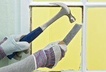 DIY Window Glazing