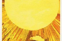XIX The Sun Tarot Card / A selection of tarot cards that represent The Sun