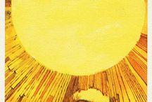 XIX The Sun Tarot Card / A selection of tarot cards that represent The Sun