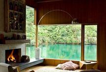 contemporary rustic interiors