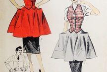 Vintage Apron Patterns / Vintage Aprons Patterns