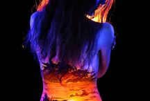 Bodypainting Neon/blacklight